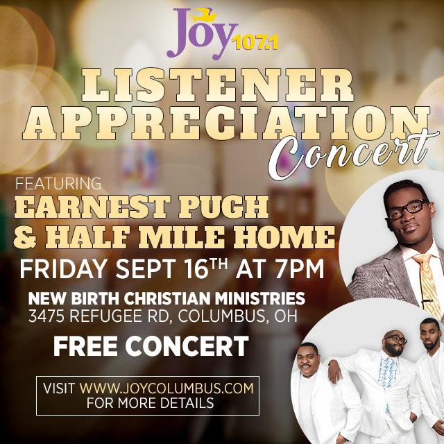WJYD listener appreciation concert