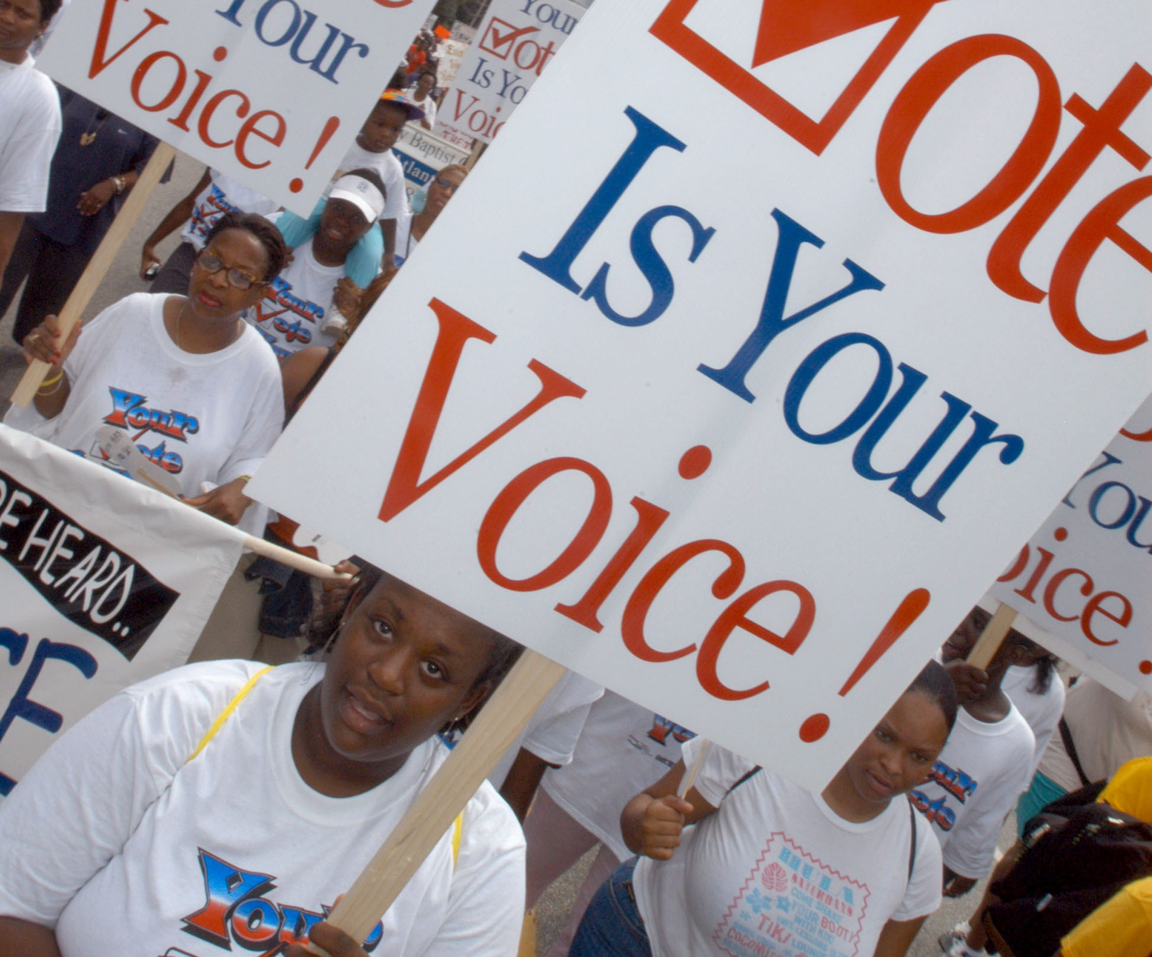 'Keep the Vote Alive!' March Commemorates Civil Rights Act