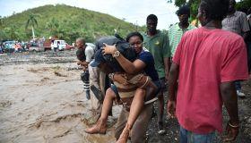HAITI-WEATHER-HURRICANE-FLOOD