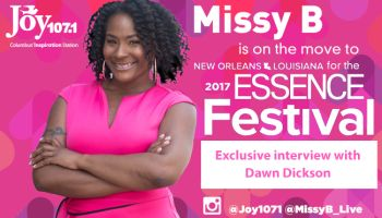 Missy B at the Essence Awards