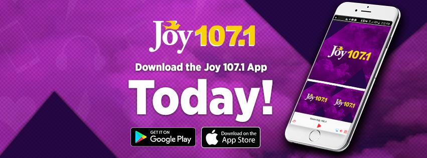 Joy 107.1 Mobile app