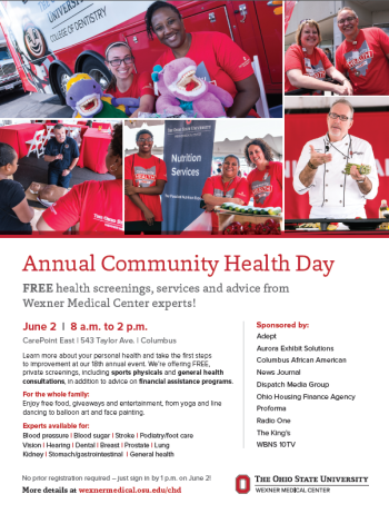 OSU Community Health Day