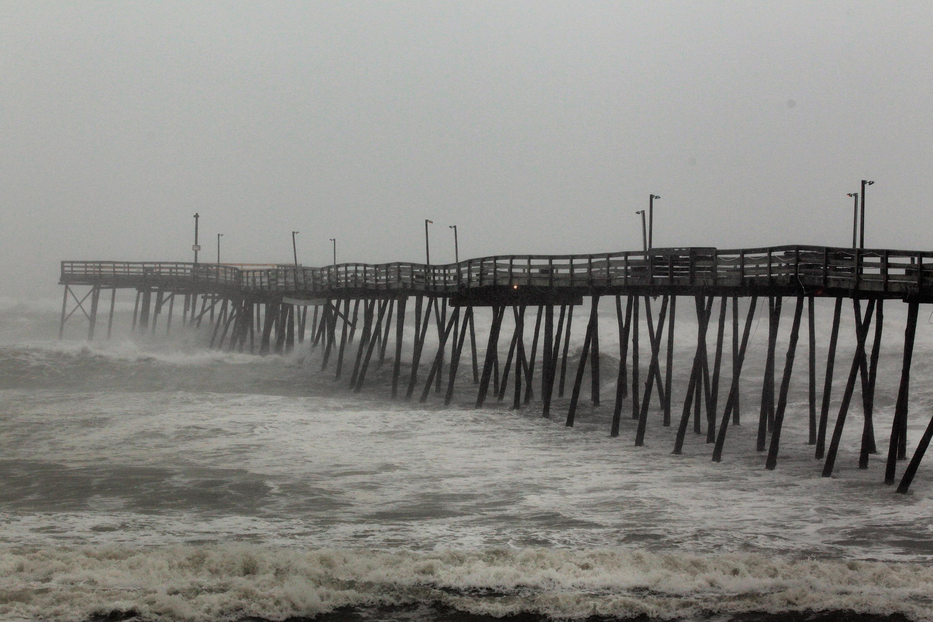 Hurricane Irene Churns Towards North Carolina's Outer Banks