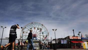 New York's Coney Island Opens For The Summer Season