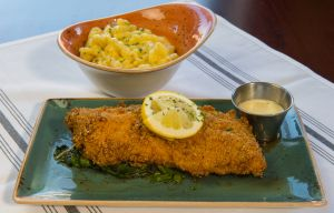 WASHINGTON, DC - March 2: The fried Maryland catfish: Cornmea