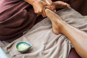 Thai massage.