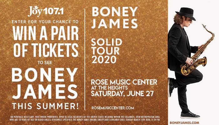 Boney James Giveaway