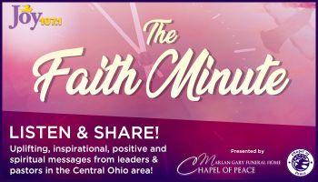 Faith Minute 2020